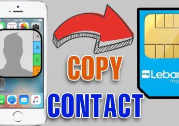 Cách copy danh bạ từ iphone sang sim   Copy iPhone contact to SIM card   Chép danh bạ iPhone vào thẻ SIM