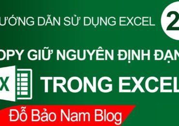 Cách copy excel sang excel giữ nguyên định dạng   Cách copy giữ nguyên định dạng trong Excel bằng Format Painter