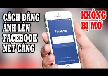 Cách đăng hình ảnh lên facebook | Cách đăng ảnh lên Facebook không bị mờ 2021 | Hồng Vlogs